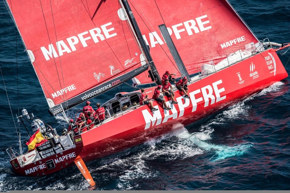 Volvo Ocean Race 2014-2015 Barco de Mafre