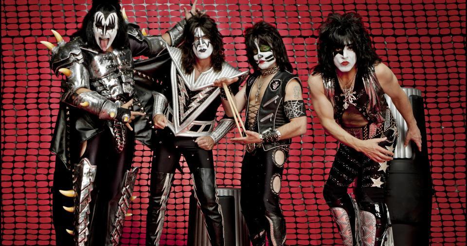 Kiss en Rock in Vienna